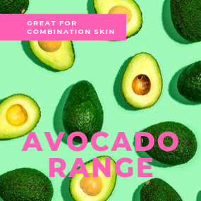 Avocado Range for combination skin